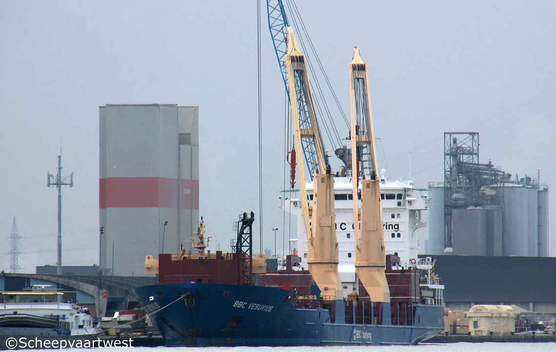 scheepvaartwest - BBC Vesuvius - IMO 9508471