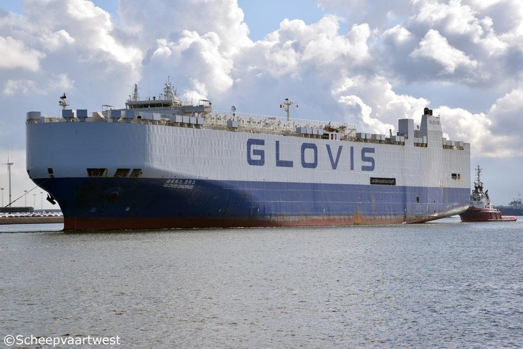 scheepvaartwest - Glovis Chorus - IMO 9158604