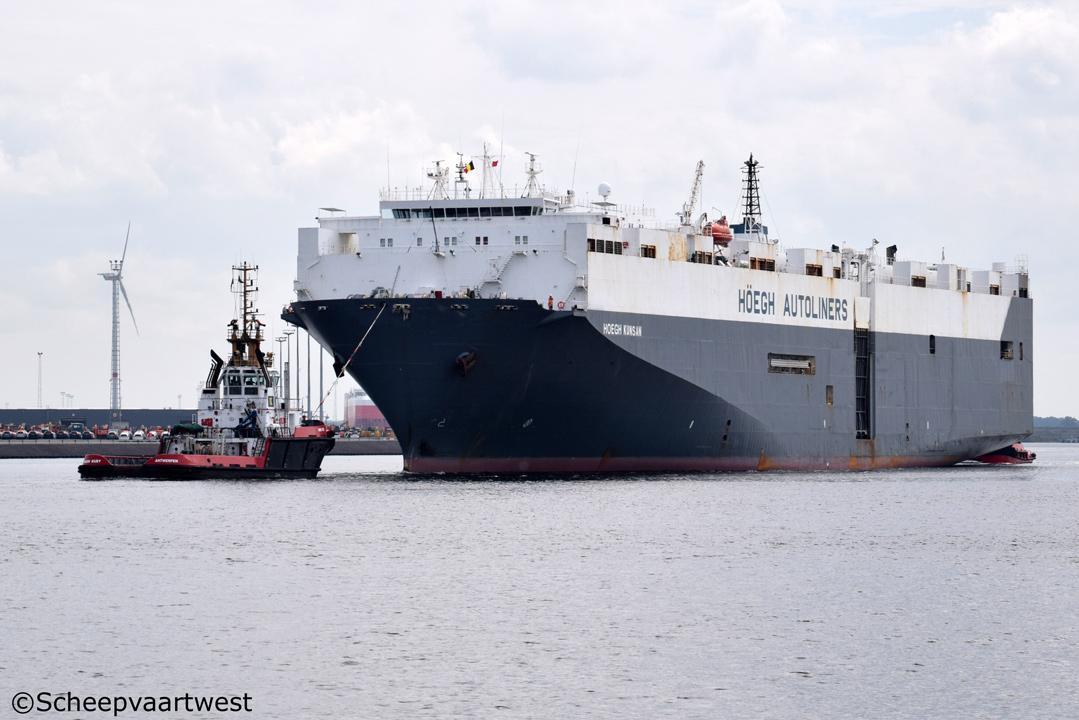 scheepvaartwest - Höegh Kunsan - IMO 9088237