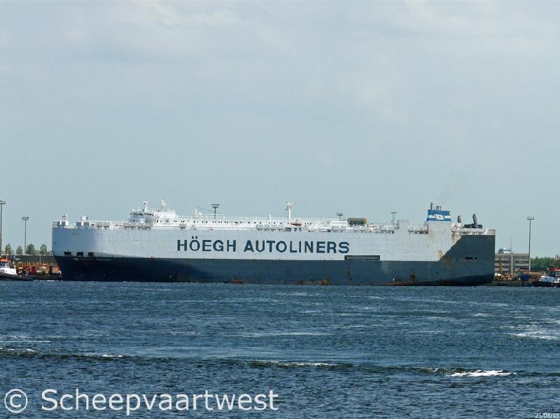 scheepvaartwest - Höegh Trident - IMO 9075709