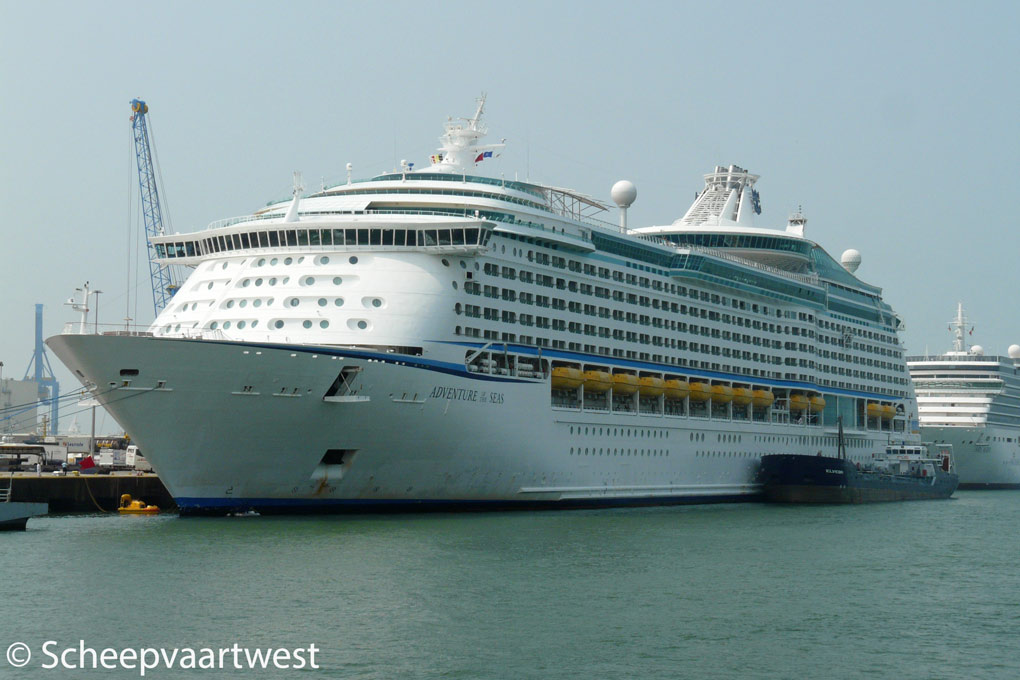 Scheepvaartwest  Adventure Of The Seas  IMO 9167227