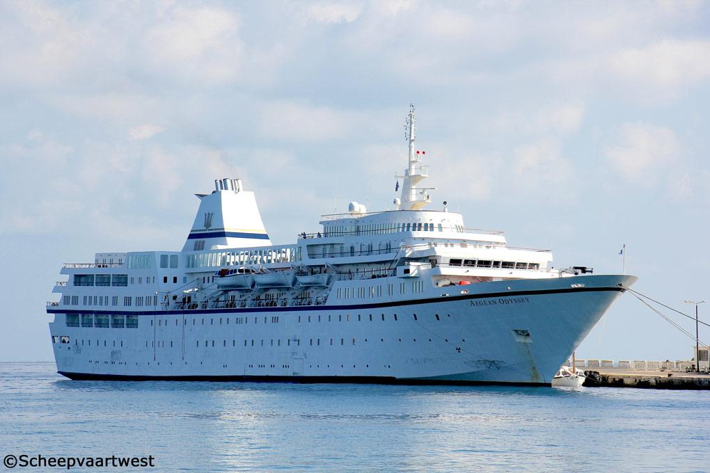 Scheepvaartwest Aegean Odyssey IMO - Royal odyssey cruise ship
