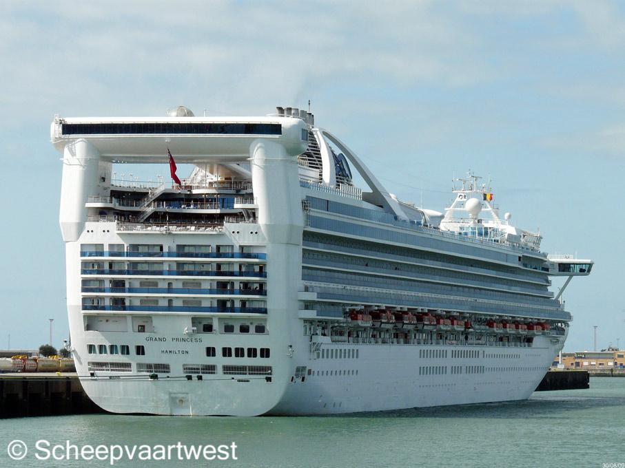 Scheepvaartwest Grand Princess Imo 9104005
