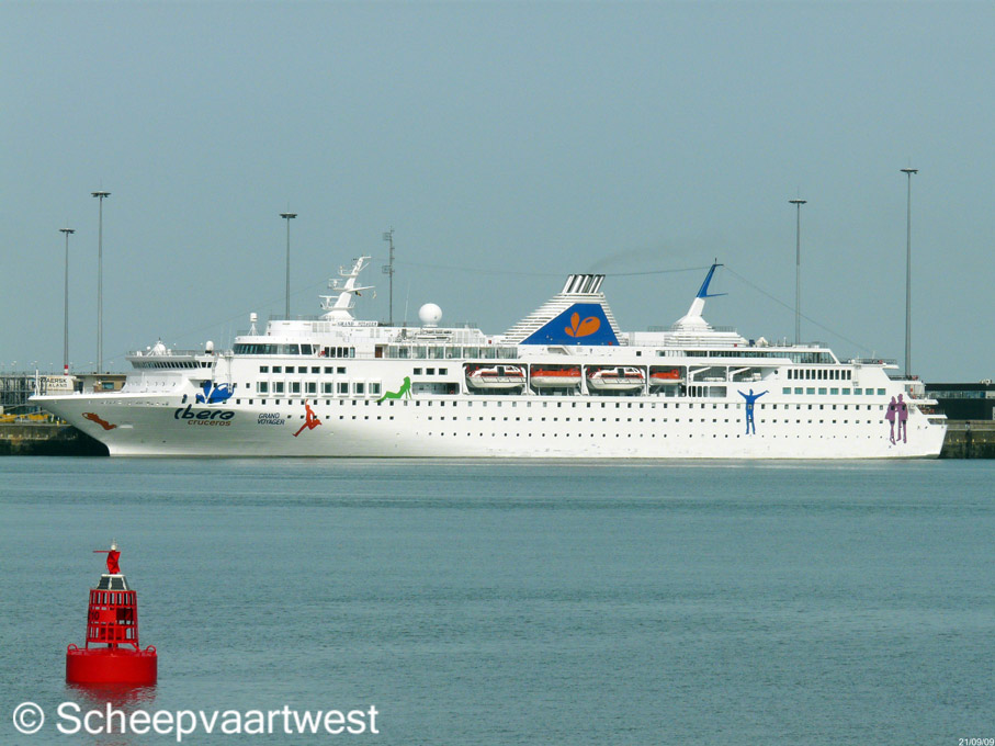 Scheepvaartwest Grand Voyager IMO - Grand voyager cruise ship