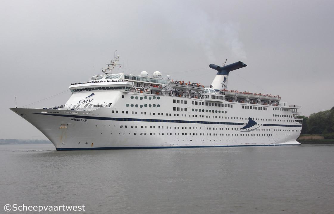 Scheepvaartwest Magellan IMO - Magellan cruise ship