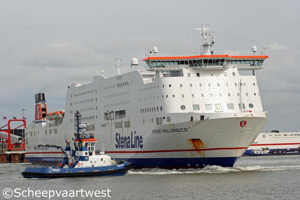 scheepvaartwest - Stena Hollandica - IMO 9419163