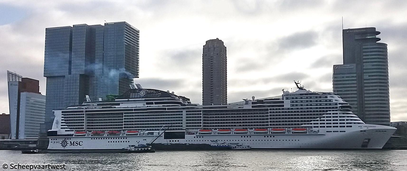 scheepvaartwest - MSC Grandiosa - IMO 9803613